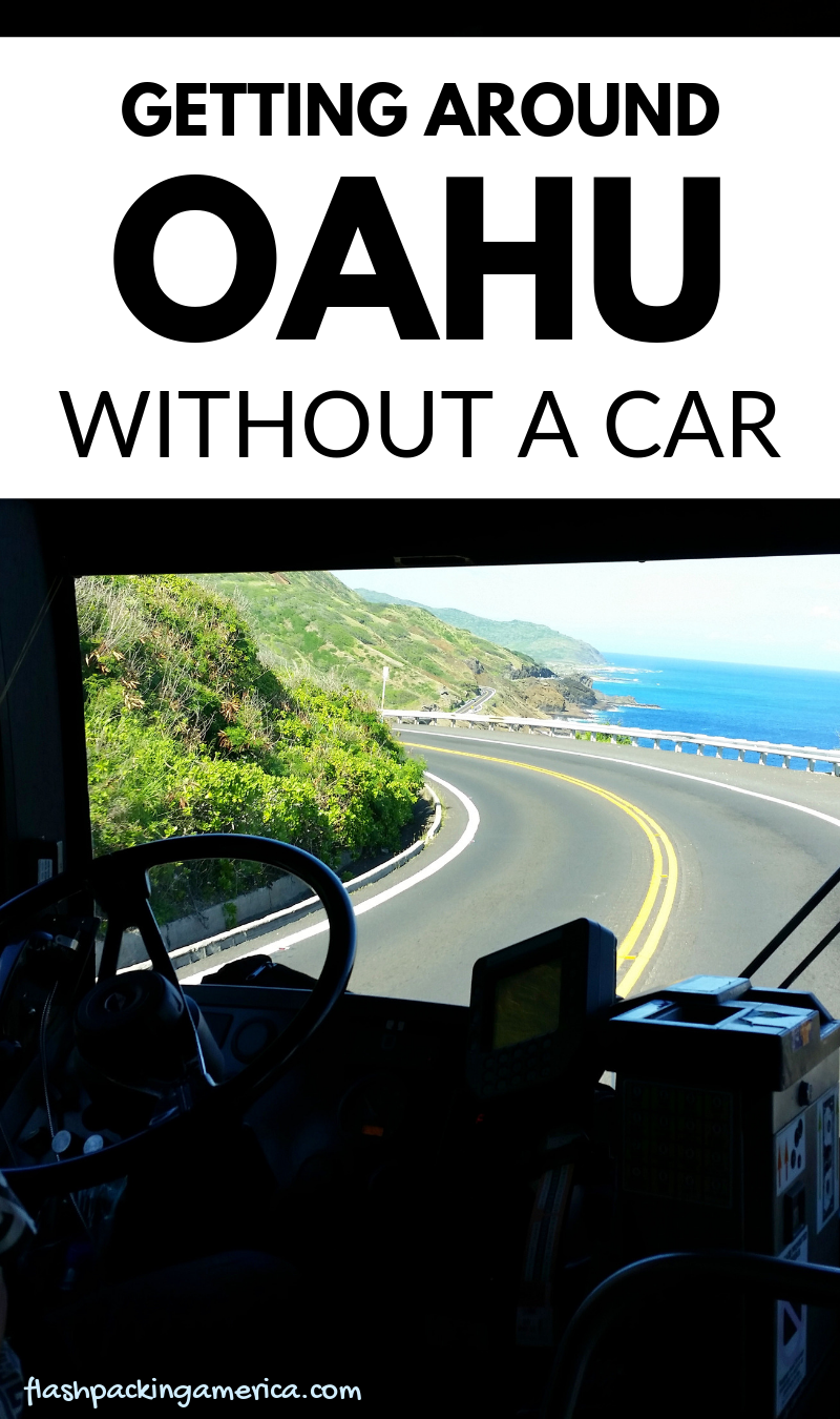 Getting around Oahu by bus 🚌 Oahu without a car on a ...