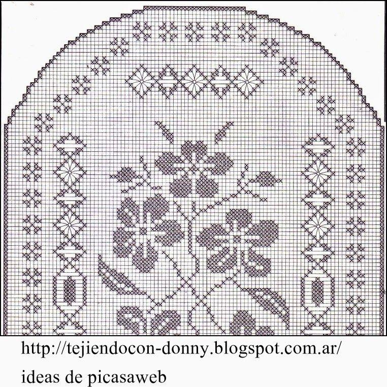 crochet fabric , CROCHET - GANCHILLO - PATRONES - GRAFICOS: IMAGEN ...