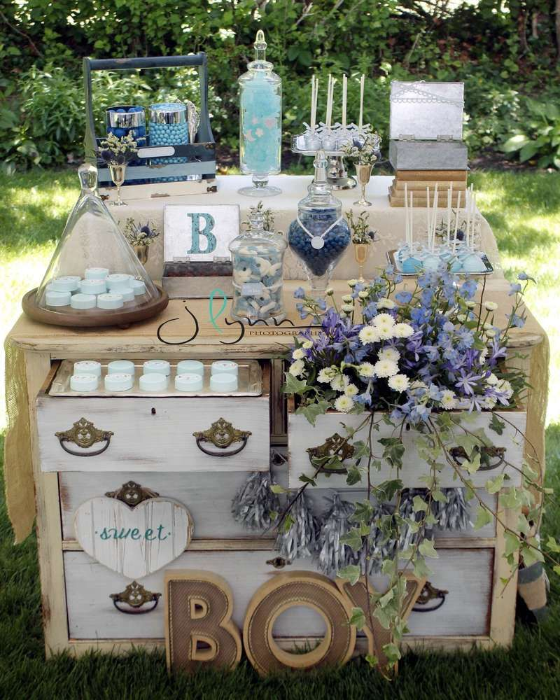 Baby Shower Vintage, Baby Shower Parties