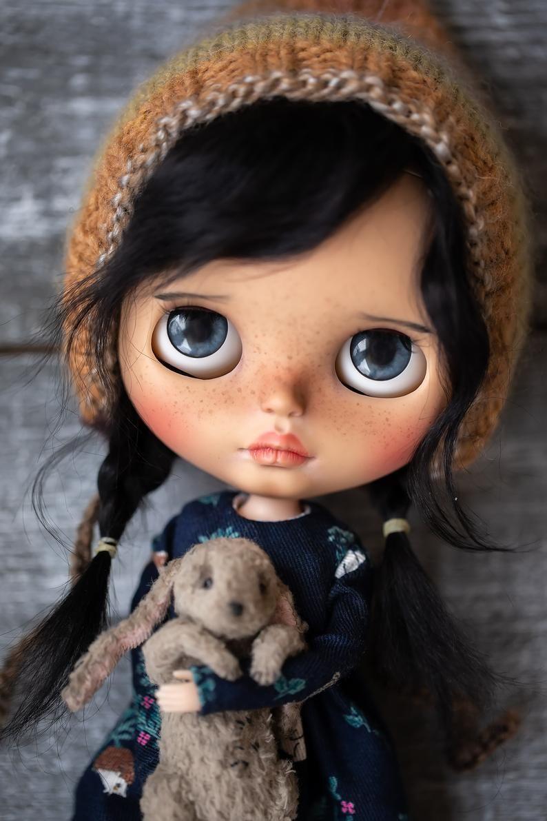 Reserve!!! Nikol - Custom OOAK Blythe Doll #dollcare