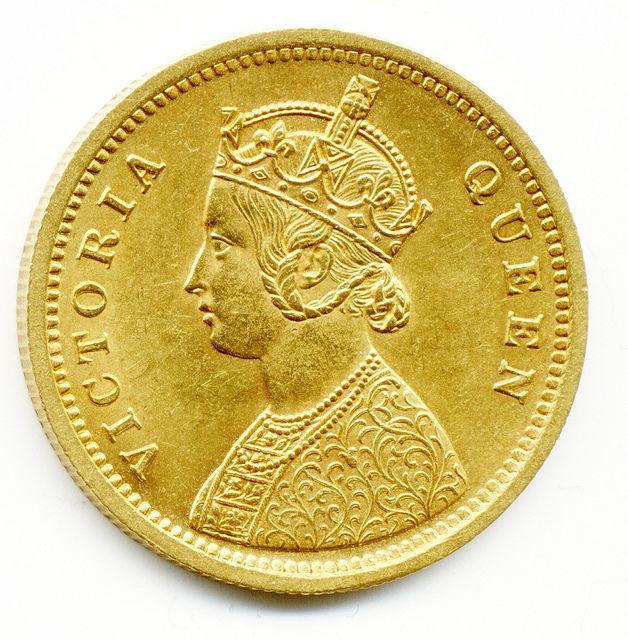 1862 Calcuta Mint Queen Victoria One Mohur Gold Coin India Gold Coins Gold Sovereigns Half Sovereigns Gold Coins Gold Coins For Sale Gold Coins Sell Coins