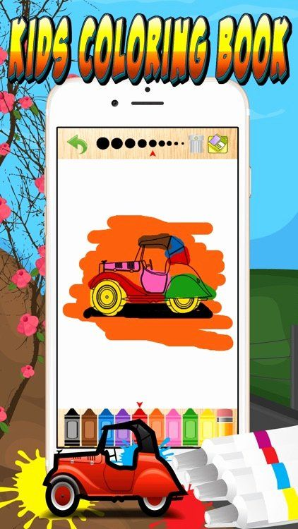 Color Apps for toddlers Elegant My Cars Games Free Coloring ...