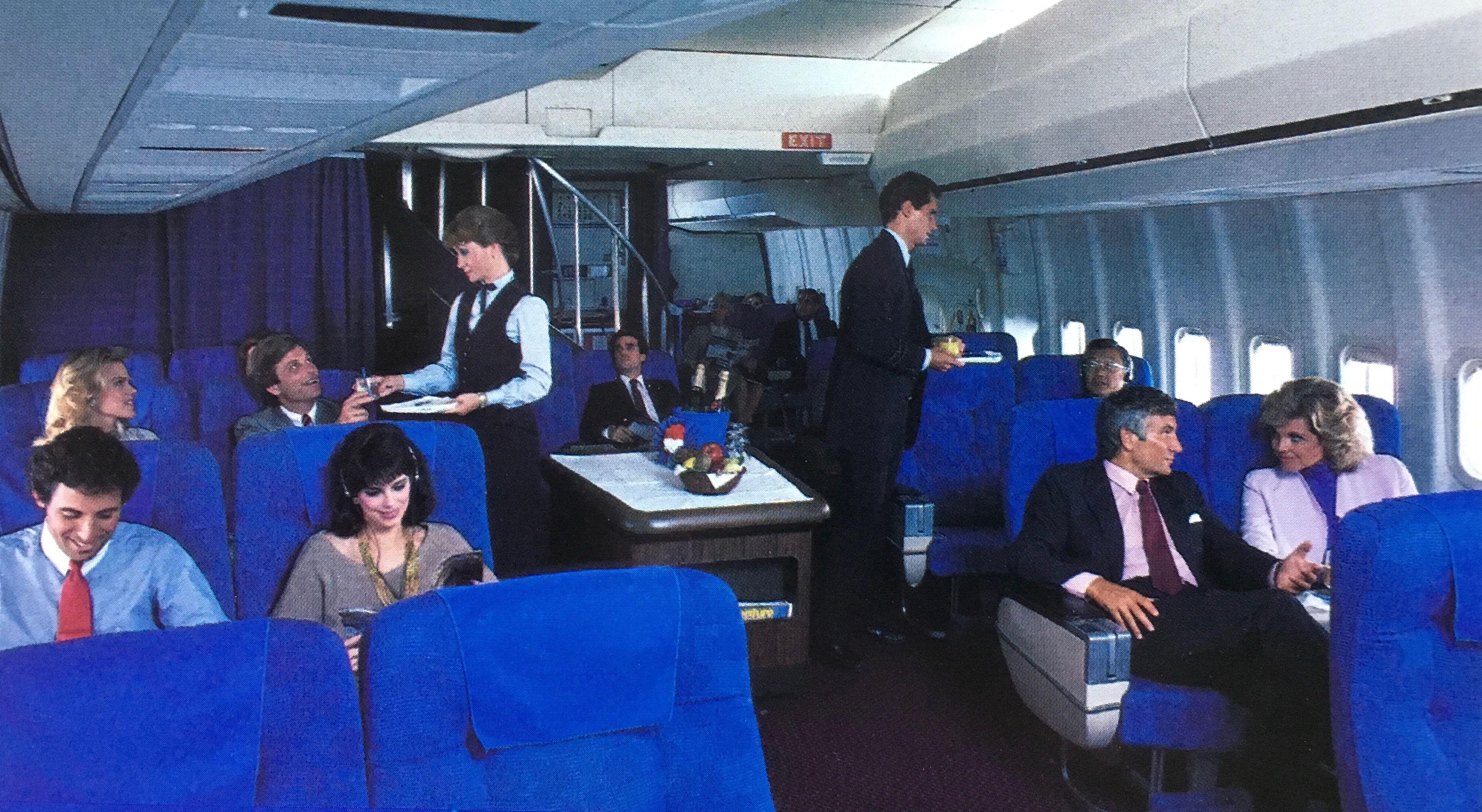 Pan Am 747 First Class Cabin