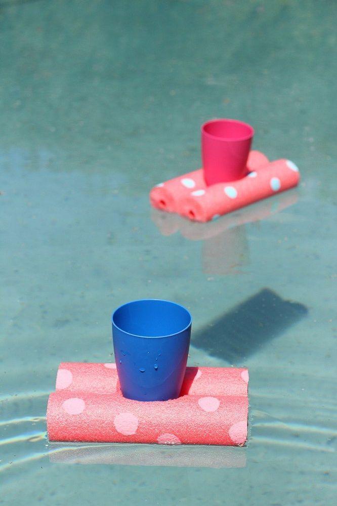 Easy Diy Floating Drinks Holder Floating Drink Holder Drink Holder Diy Diy Pool