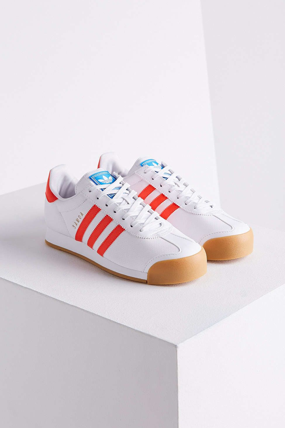 dc513fe0 adidas Samoa Perforated Gum Sole Sneaker | shoes | Zapatos, Tenis ...