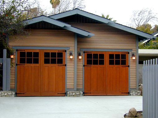 Ideas About Shed: Craftsman Style Garage Doors