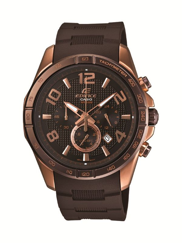 This is an image of Dramatic Casio Edifice Gold Label Efx 510p
