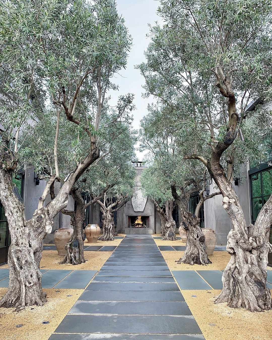 Sunset Magazine On Instagram Editorial Assistants Mayawong And Kelsmaloney Spent An Incr Restoration Hardware Outdoor Restoration Hardware Outdoor Backyard
