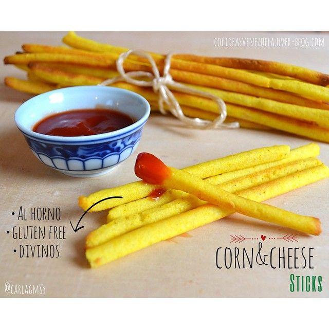 CORN & CHEESE STICKS