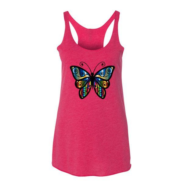 Colorful Butterfly - Women's Tank Top