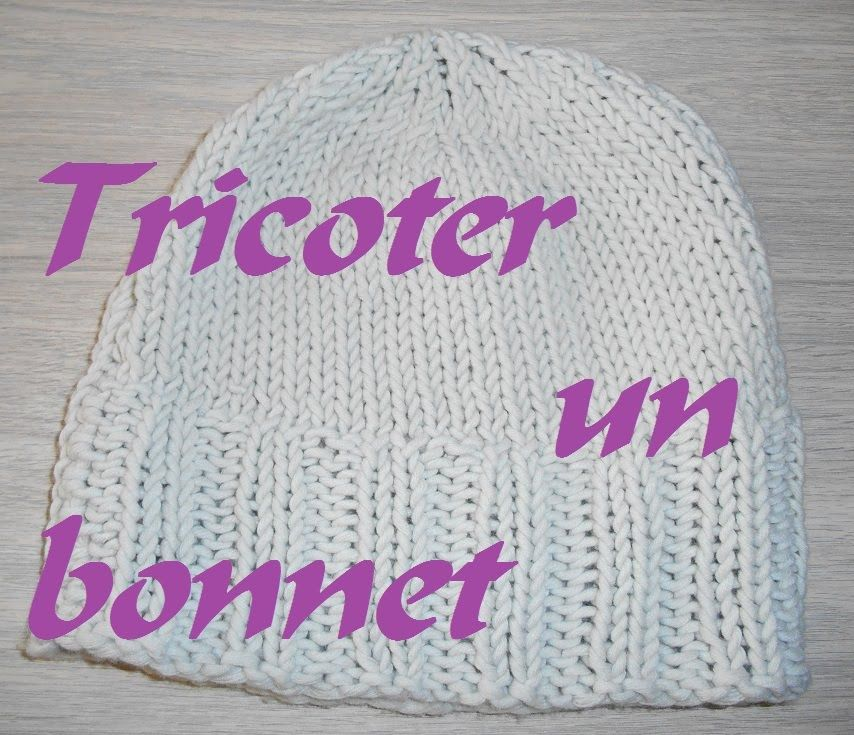Tricoter un bonnet femme facile tricot pinterest - Comment tricoter un bonnet pour bebe ...