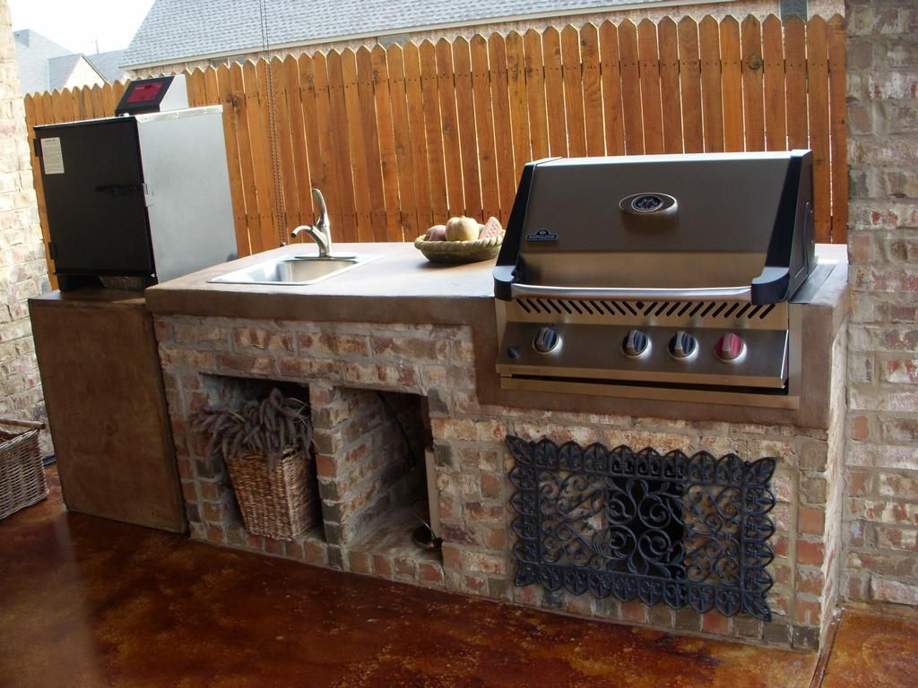 Outdoor Patio Kitchen Grill Find Grill & Outdoor Cooking Is Very Endearing How To Design An Outdoor Kitchen Inspiration