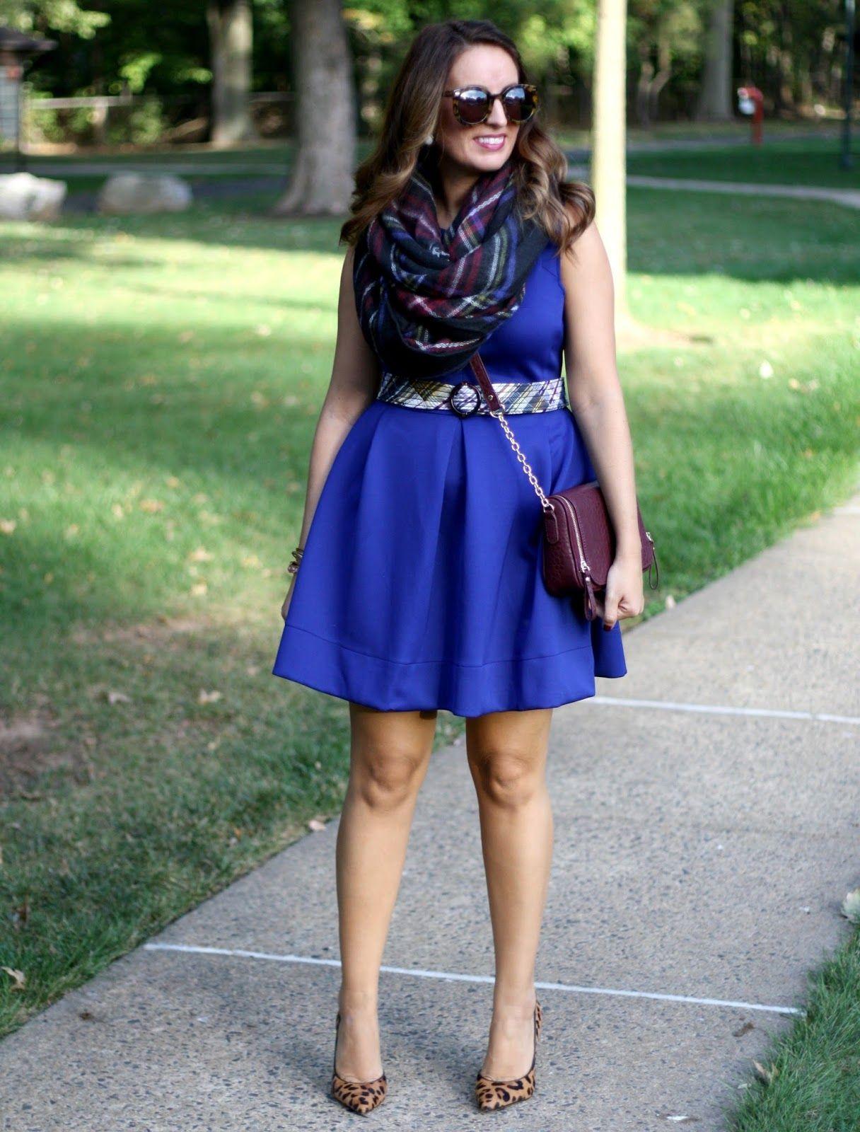 blue dress leopard shoes