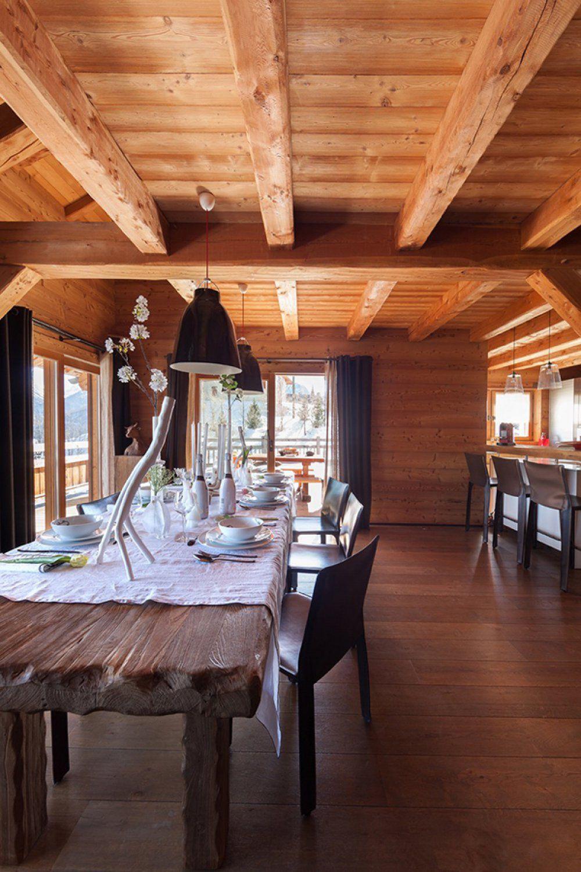 Aménagement et décoration d\'intérieur par Chalets bayrou - Chalet ...