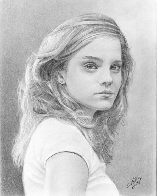 Exceptionnel comment dessiner des portraits au crayon | Dessins, portraits  KR66