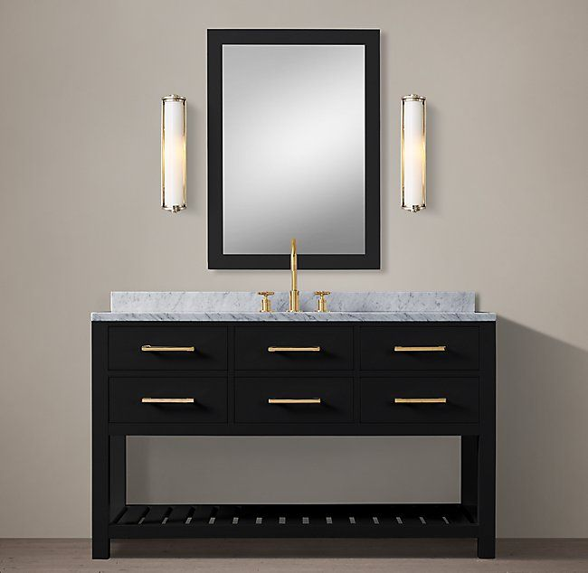 Hutton Single Extra Wide Washstand Floating Bathroom Vanities