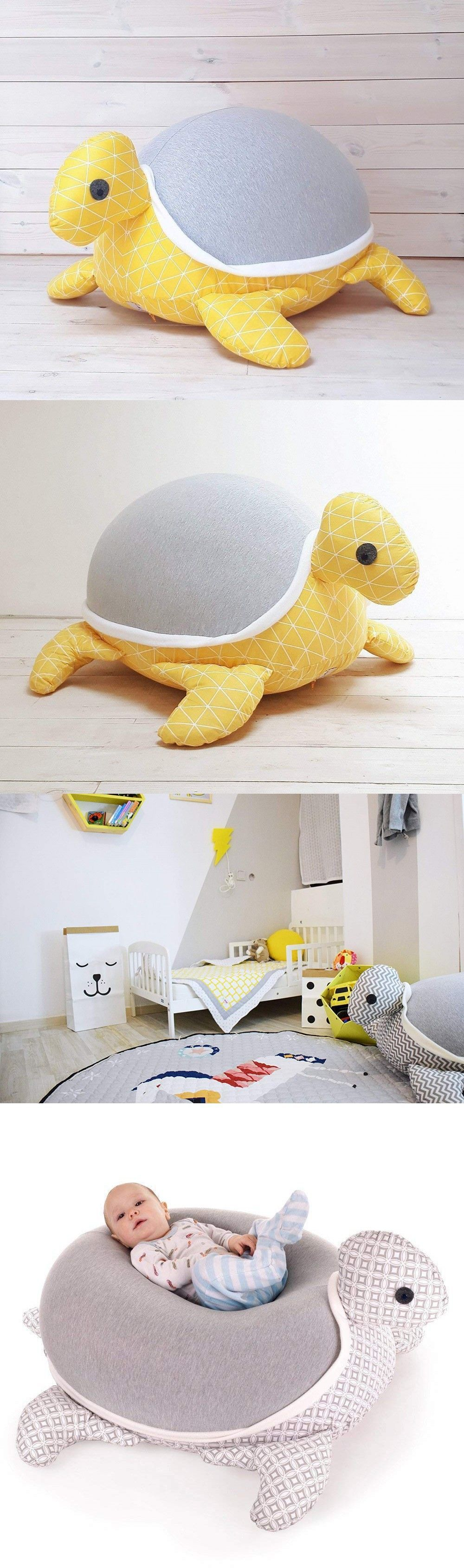 Giant Floor Pillow Design With Turtles