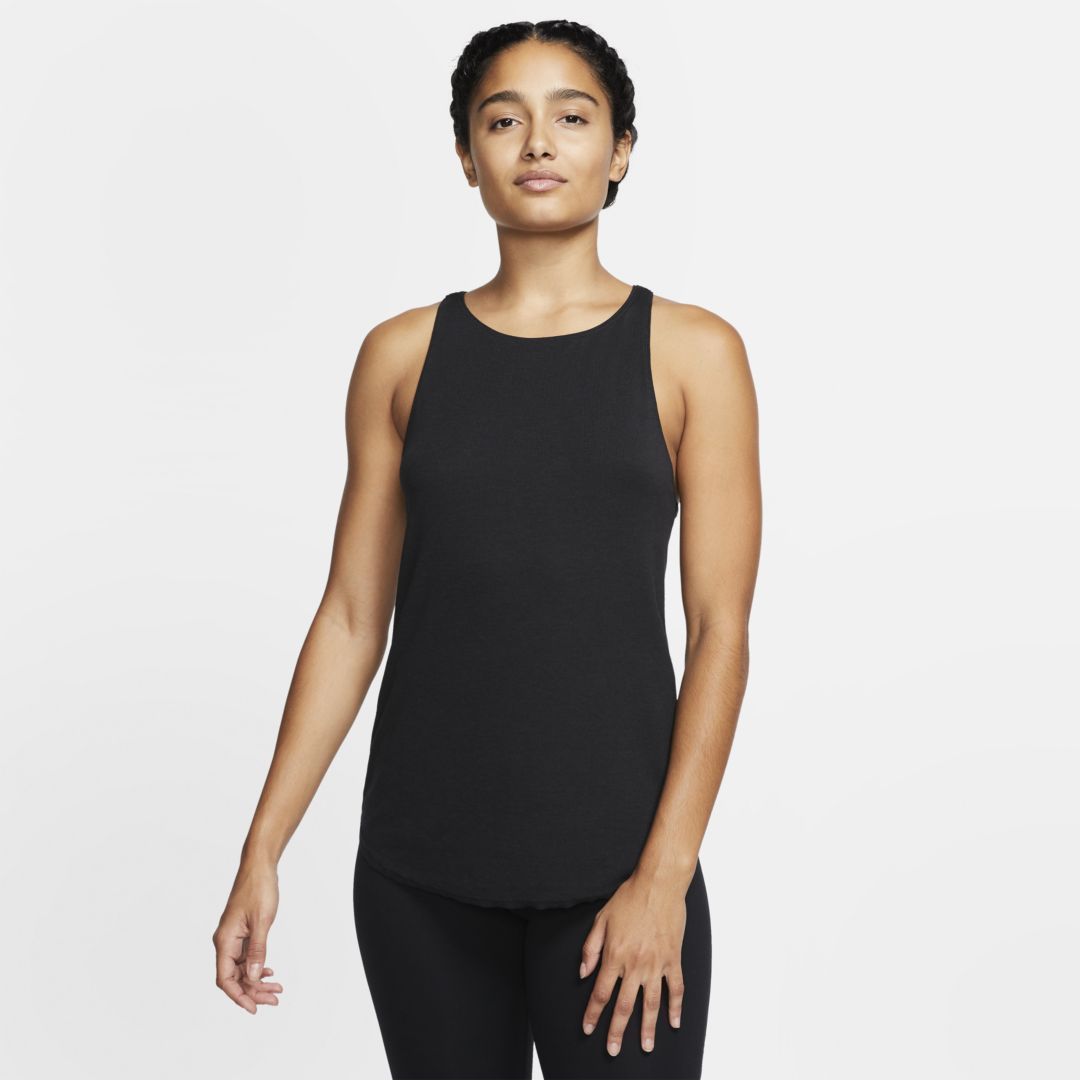 Photo of Nike Yoga Luxe Damen Tank (schwarz)