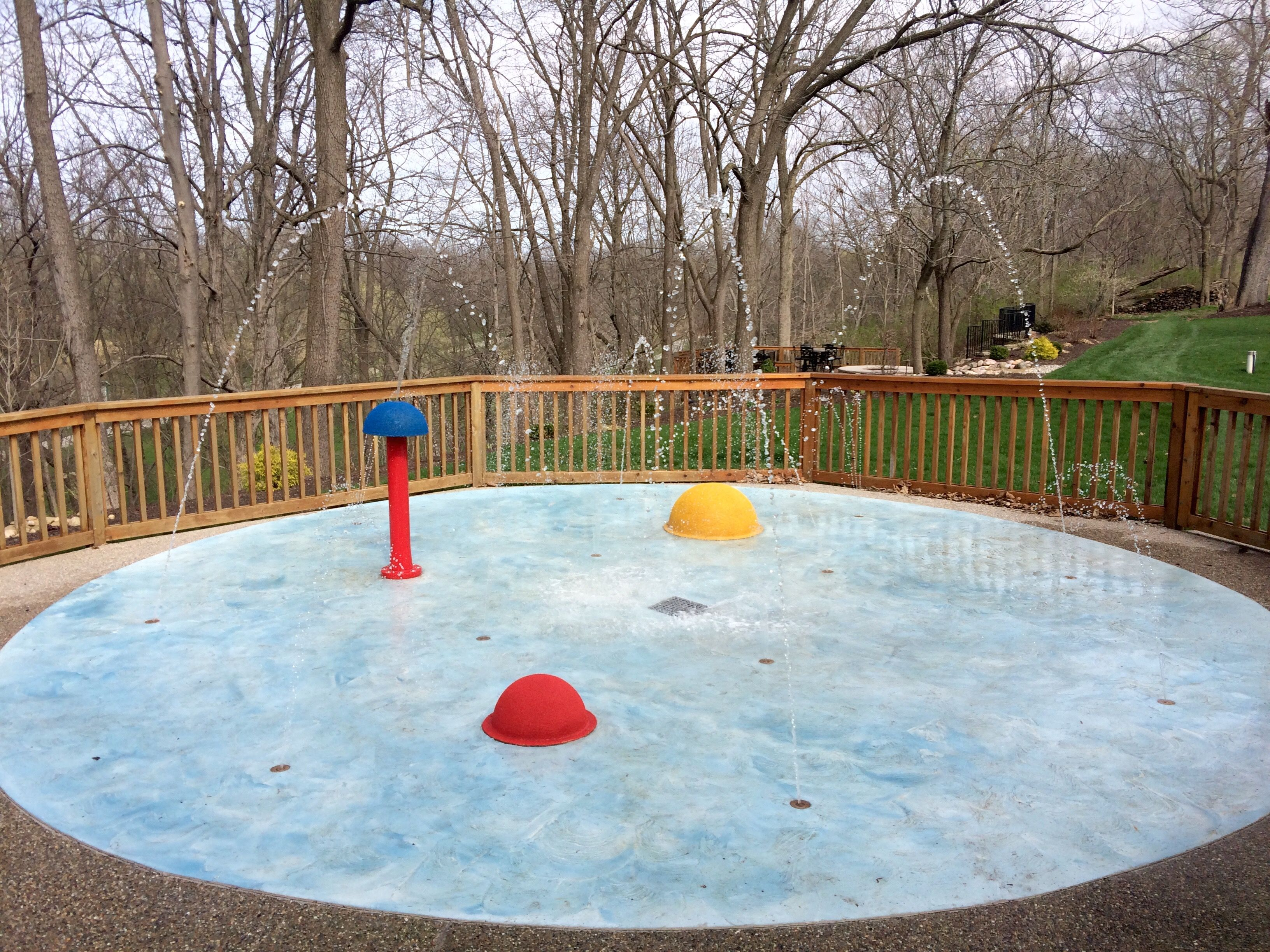water playground for your backyard a residential splash pad is