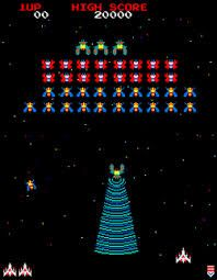 Image result for galaga arcade machine