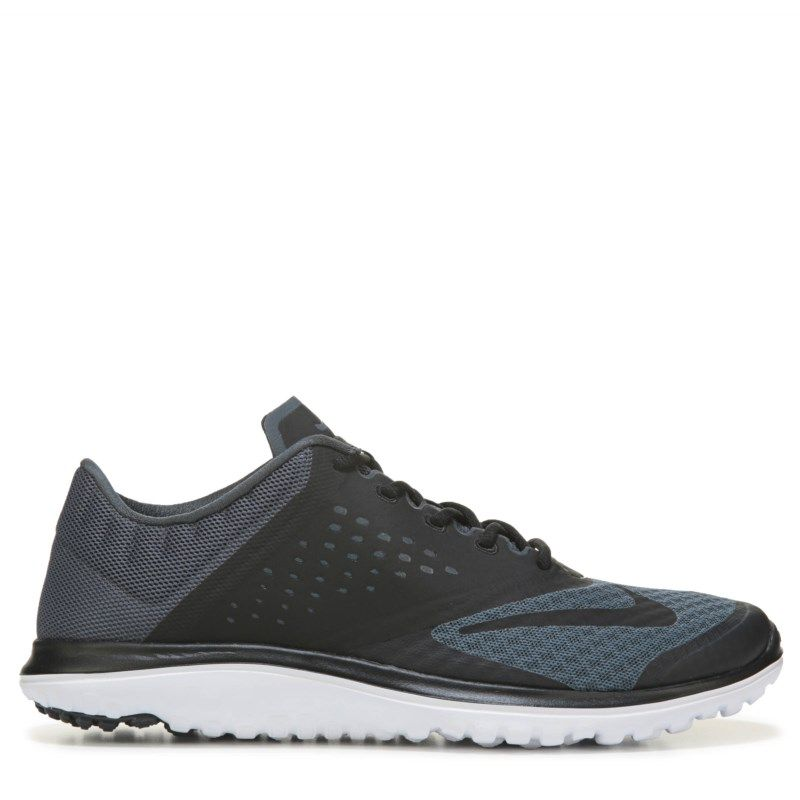 new product 221e5 6d618 Nike Men s FS Lite Run 2 Running Shoes (Black White)
