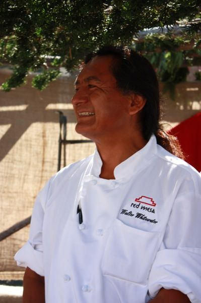 Native American Pride  Chef Walter Whitewater from Red Mesa Cuisine