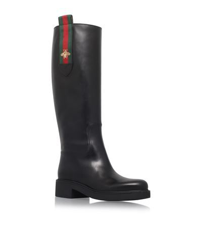 1890a13de59 GUCCI Mary Bee Knee-High Boots.  gucci  shoes