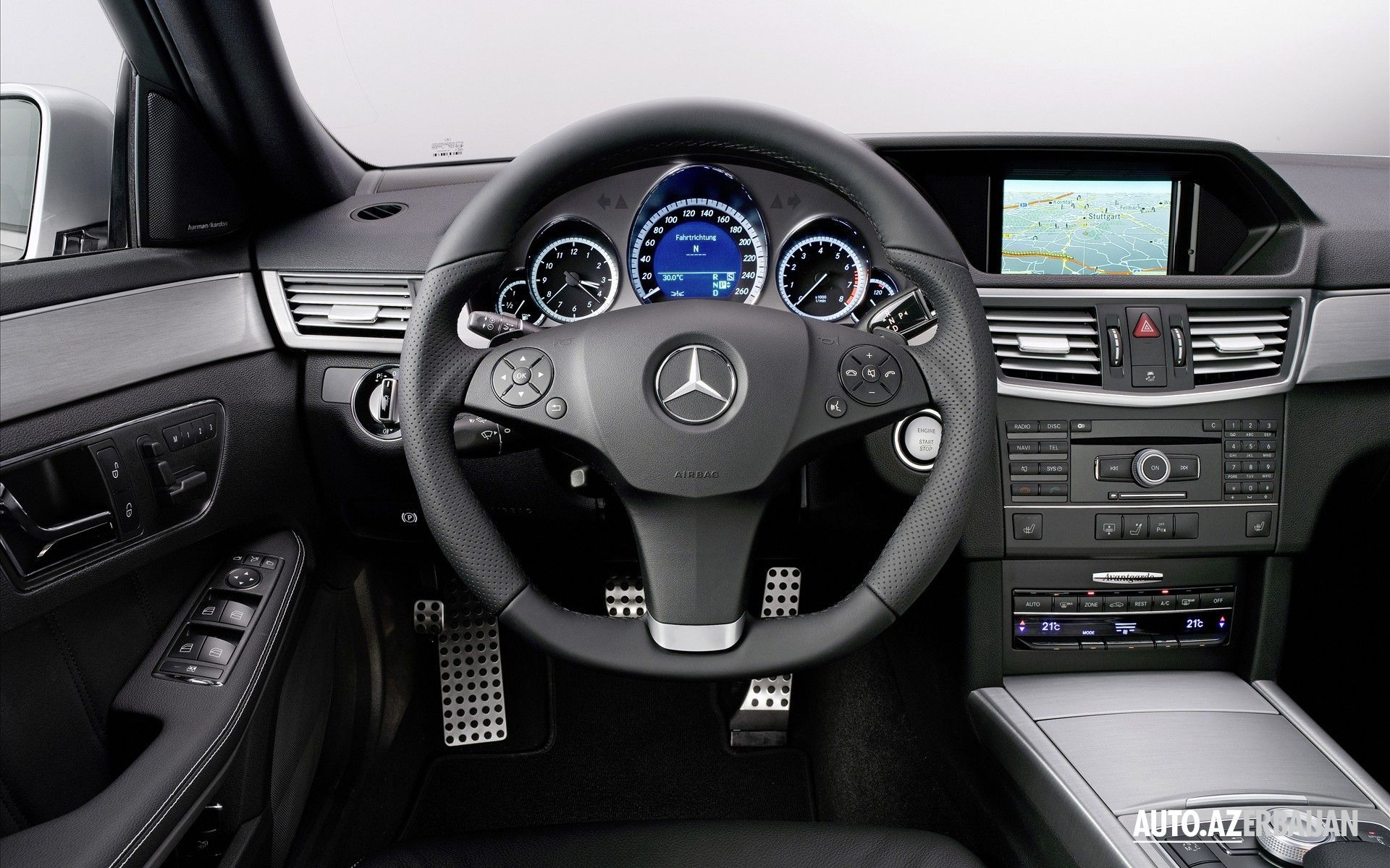 Interior of E class Mercedes Benz W212