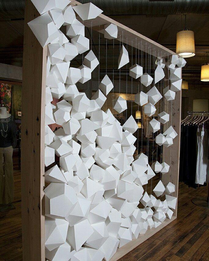 Parametric 3d design art interiordesign interior for Yes decoration