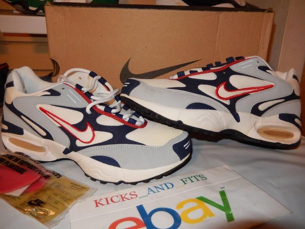 3965ea5a20f VTG OG 1998 Nike Air Max Triax DS New with box sz 10 104109-181 USA Colors  Rare  Nike  AthleticSneakers