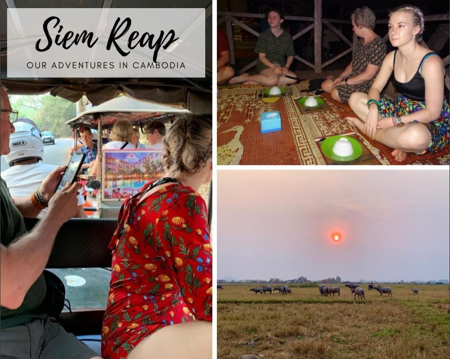 Our time in the city of Siem Reap while we visited Angkor Wat! There is so much to do! We went quad biking as well as visiting the markets and having some amazing coffee. #Family #Holiday #Travel #Tourists #Asia #Cambodia #SiemReap #AngkorWat #Temples #QuadBiking #Coffee #TukTuk