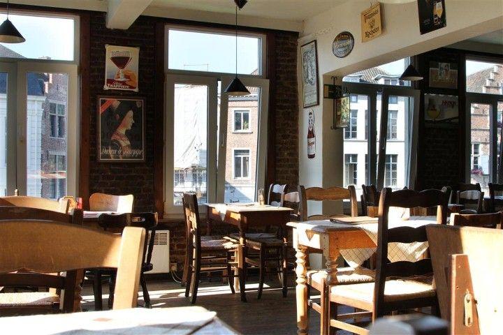 Waterhuis aan de bierkant/Bierhuis aan de waterkant - Gent door Marieke & Polle