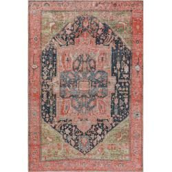 Photo of benuta flat weave carpet Stay Pink 155×235 cm – vintage carpet in the used look benuta