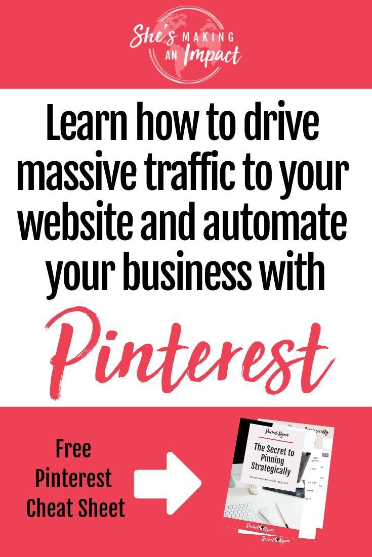Want to learn how to use pinterest for business? In this post, I'll share with you my top tips on how to use pinterest for your business, including: how to convert random pinners into people who love your posts and come back to your website (often!). Plus how you can use pinterest as a search engine (not another social media platform!) Repin and grab my free cheat sheet to get more leads with pinterest! #shesmakinganimpact #pinterest #entrepreneurtips #blogging #bloggingtips #entrepreneur