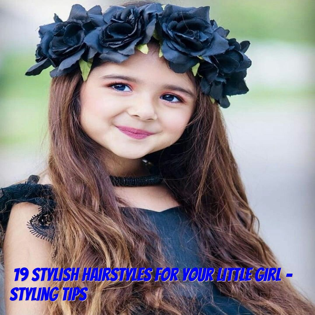 19 Stylish Hairstyles For Your Little Girl Styling Tips Isn T It A Reality That One Of Yo Baby Girl Wallpaper Cute Baby Girl Wallpaper Baby Girl Photography