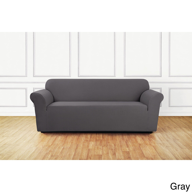 sure fit sofa cover grey