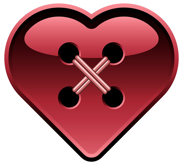 Button Heart Heart Song Pinterest Clip Art Button Button And - Clip-art-of-heart