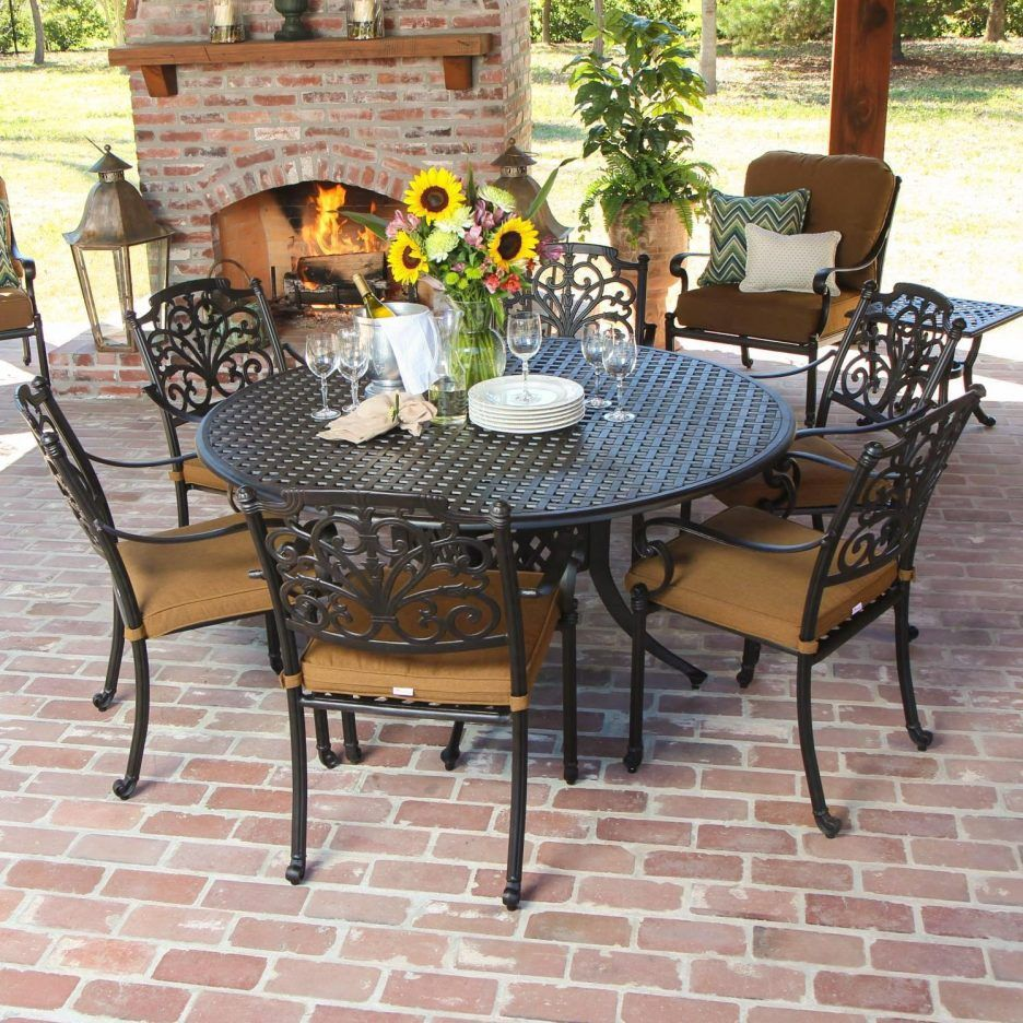 Affordable Patio Furniture Calgary Round Outdoor Dining Table