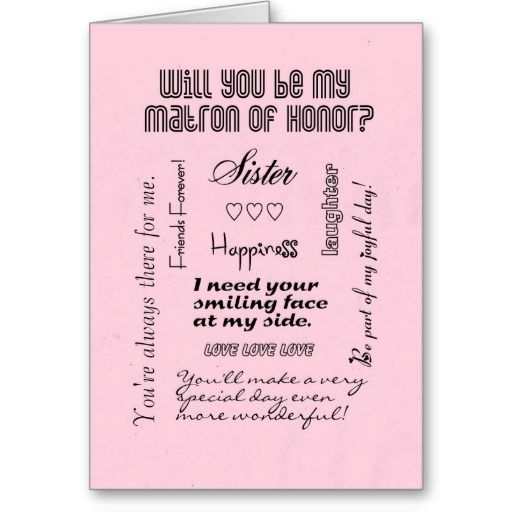 =>Sale on          Will You Be My Matron of Honor, Pink, Sister? Card           Will You Be My Matron of Honor, Pink, Sister? Card We have the best promotion for you and if you are interested in the related item or need more information reviews from the x customer who are own of them before pl...Cleck Hot Deals >>> http://www.zazzle.com/will_you_be_my_matron_of_honor_pink_sister_card-137292806613460303?rf=238627982471231924&zbar=1&tc=terrest