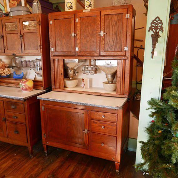 McDougall kitchen cabinet Cookbook Holder door paper chart insert Hoosier