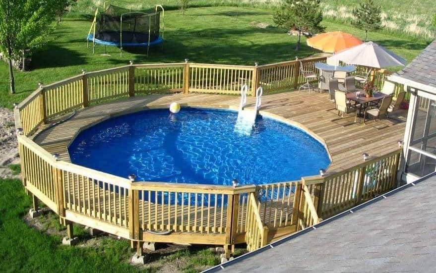 how to find a small leak in an above ground pool liner