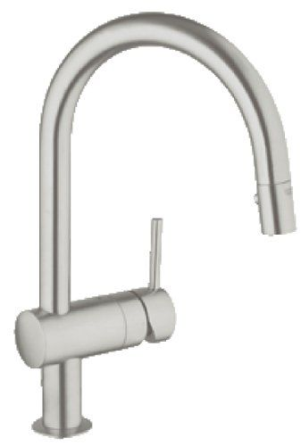 Minta Single Handle Pull Down High Arc Kitchen Faucet   Touch On Kitchen  Sink Faucets   Amazon.com. KüchenarmaturenBadezimmer WasserhahnSeifenspender Ideen ...