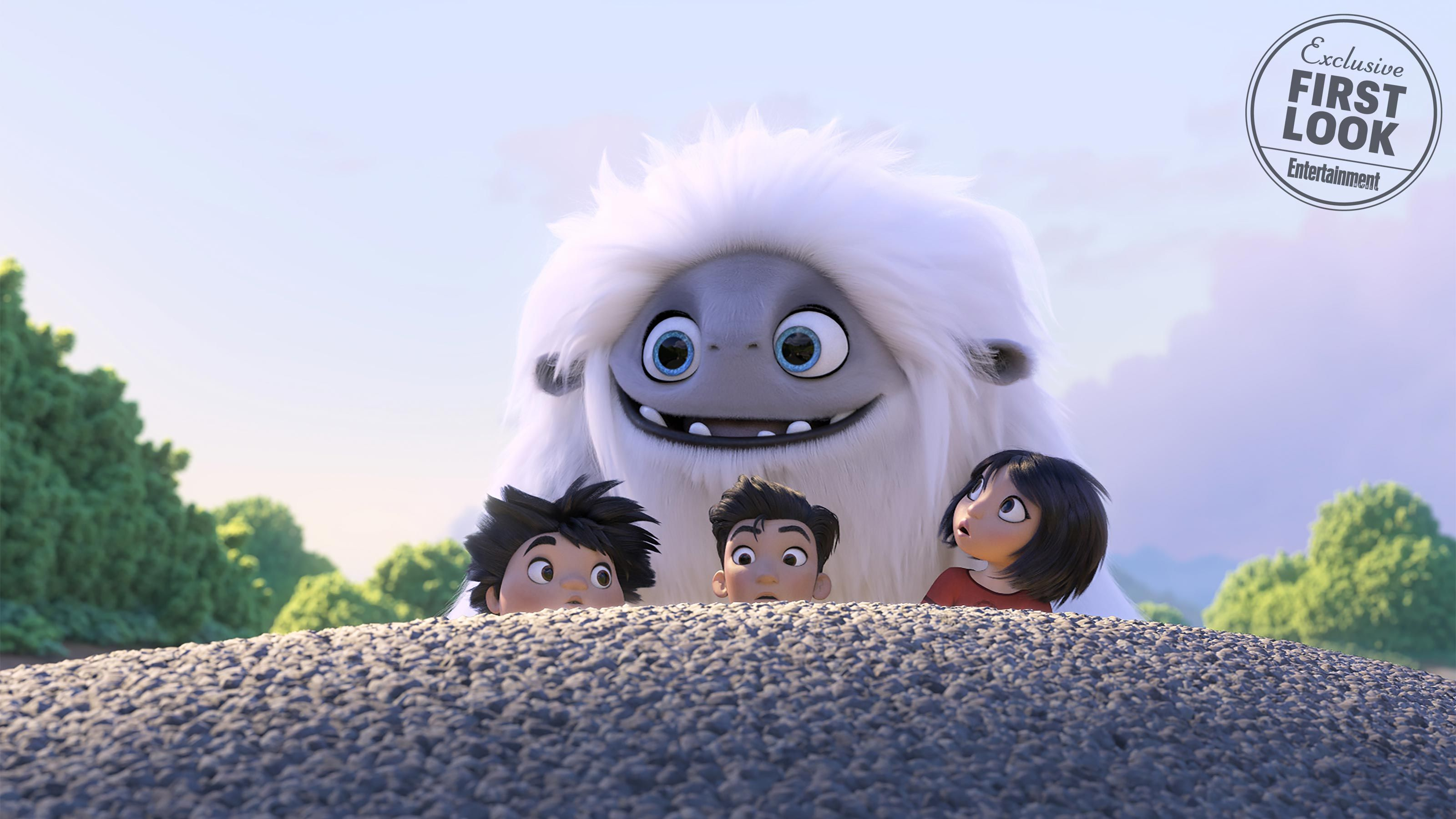 Exclusive Meet The Fuzzy Yeti Hero Of Abominable Dreamworks Next Film Dreamworks Animated Movies Dreamworks Animation