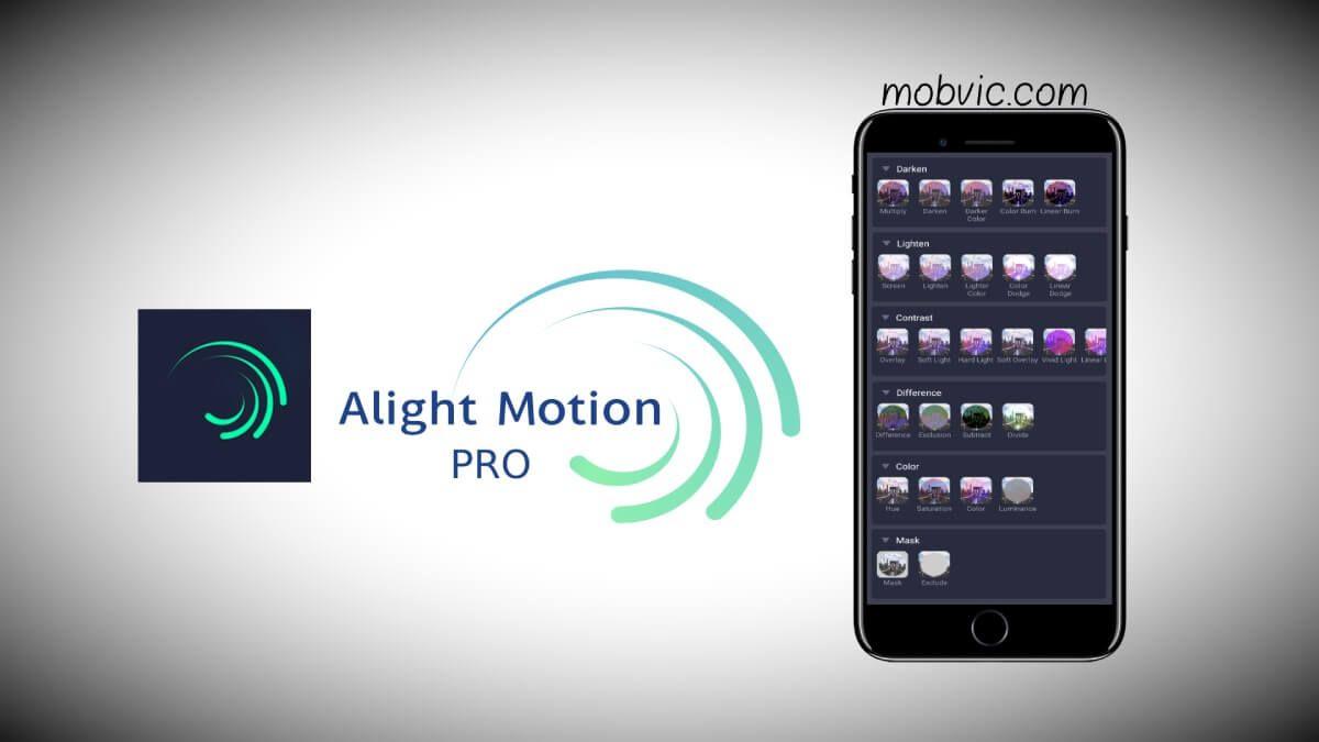 تحميل تطبيق لايت موشن برو Alight Motion Pro للايفون مجانا بدون علامة مائية Motion App Alight