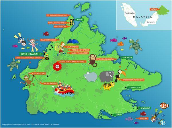 10 Aktiviti Pelancongan Dan Tempat Menarik Di Sabah If You Are Planning To Go To Sabah Don T Miss To Visit These Places Kkleisure Ko Kota Kinabalu Tempat