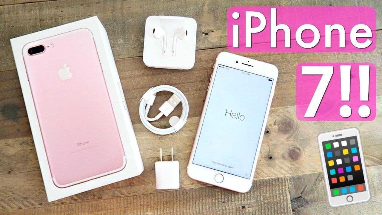 Iphone 7 Plus Unboxing 256gb Rose Gold Iphone 7plus Rose Gold Iphone Iphone 7 Rose Gold