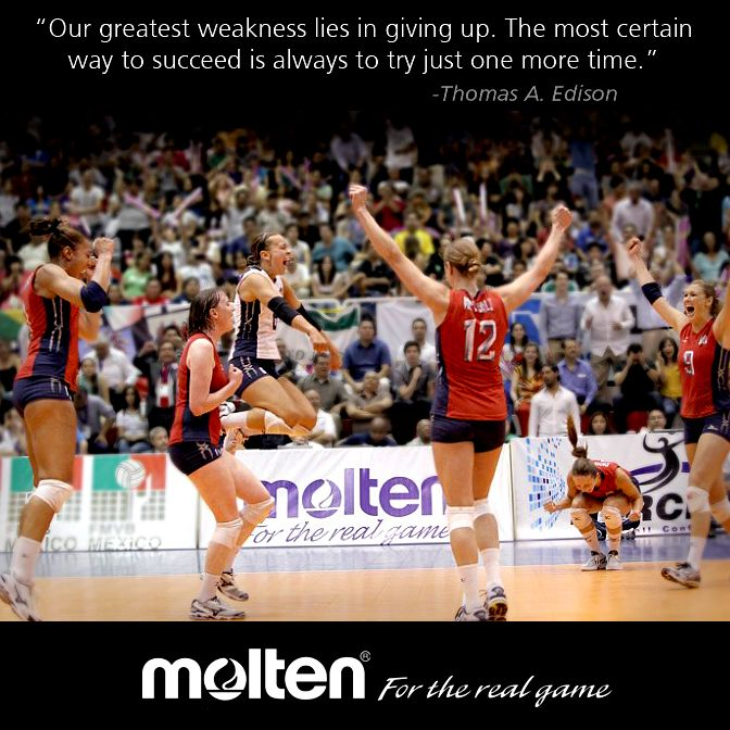 Motivational Team Quotes Volleyball: Volleyball #Motivation! -with USA Volleyball