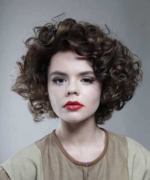 Best Short Hairstyles for Thick Curly Hair | short curly hair ...