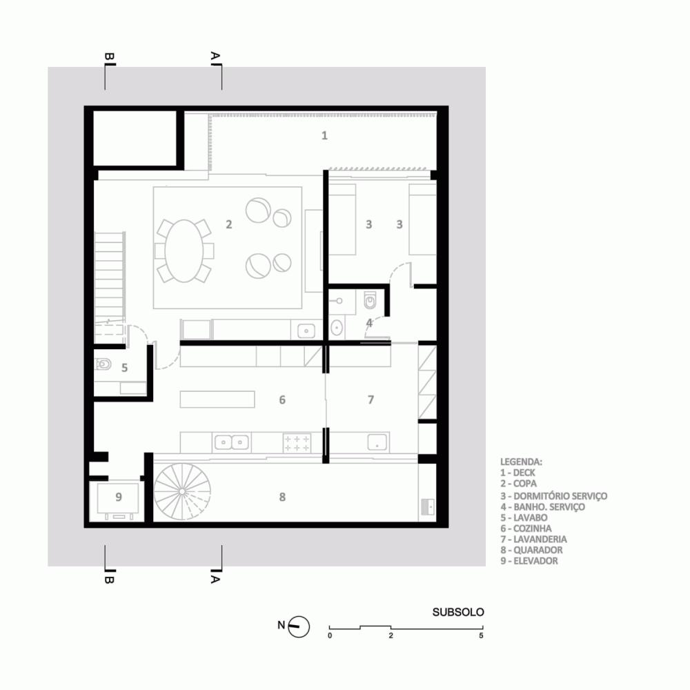 Gallery Of Casa 12×12 Bernardes Arquitetura 12 Pinterest