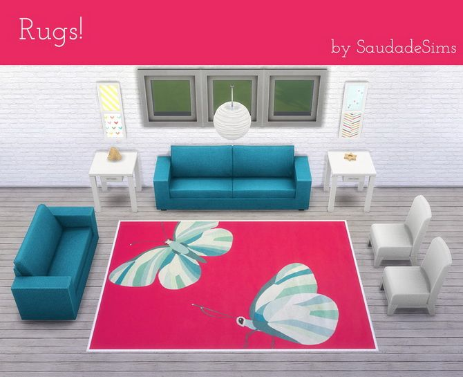 32 4x3 rugs at Saudade Sims via Sims 4 Updates  Check more at http://sims4updates.net/objects/decor/32-4x3-rugs-at-saudade-sims/